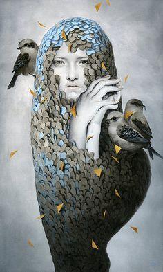 Tran Nguyen 1987 | Vietnamese Surrealist painter and illustrator