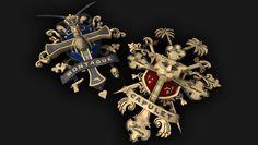 Capulet & Montague Crests