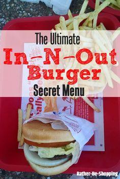 In-N-Out Burger Secret