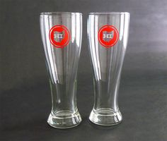 Ohio Pilsner Beer Glasses. $12.00, via Etsy.