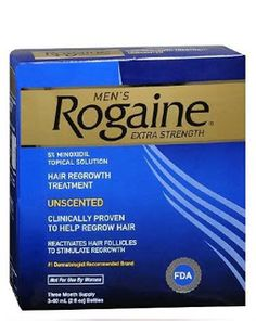 Rogaine Extra Strength for Men Men's Rogaine Extra Strength Hair Regrowth Treatment, Unscented 3 month supply $43.70 & FREE Shipping