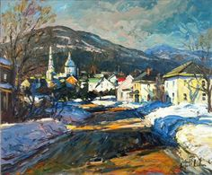 Chemin Sainte-Anne - Raynald Leclerc - Galerie d'art Iris, Baie-Saint-Paul - Charlevoix