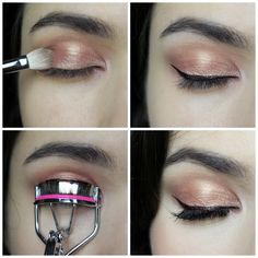 Rose Gold Eyeshadow Makeup Tutorial | Sole Tutorials