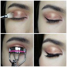 Rose Gold Eyeshadow Makeup Tutorial   Sole Tutorials