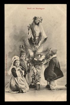 Noël EN Bretagne Enfants Childrens Jouets Toys FIR Tree Sapin Costume Breton | eBay