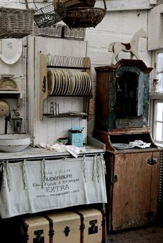 farm house kitchen by Ellie Elephant