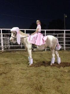 Horse Halloween costume poodle skirt 50's sock hop