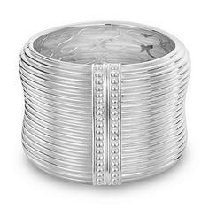 SLANE Column Sterling Silver Cuff Bracelet, Large