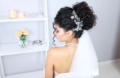 Curly Bridal Hair, Curly Hair Updo, Hair Dos, Curly Hair Styles, Natural Hair Styles, Brunch Wedding, Wedding Updo, Curly Girl, Wedding Wishes