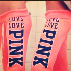 I also really want LOVE PINK yoga pants from Victoria's secret