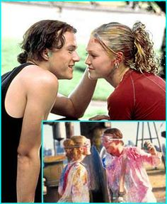10 Things I Hate About You. I still miss Heath Ledger, and this is a prime example of why.