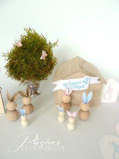 Des lapins de Pâques | idées déco, décoration moderne, Pâques. Plus d'idée sur http://www.bocadolobo.com/en/inspiration-and-ideas/