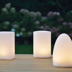 Epic LED Akku Tischleuchten mit Farbwechsel und Fernbedienung von Jan Kurtz