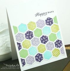 {capture the moment}: Introducing Happy Hexagons, Background Basics: Rainbows, We Go Together and Heart-2-Heart #5