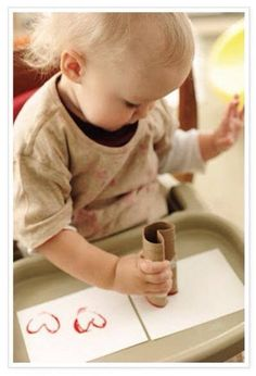 Heart craft for toddlers