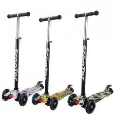 Trotineta pentru copii Smart Scooter model imprimat. Trotineta pentru copii este proiectata pentru a fi utilizata de copii incepand cu varsta de 3 ani si asigura micutului dumneavoastra o plimbare sigura si confortabila. Stationary, Bike, Model, Bicycle, Scale Model, Bicycles, Models, Template