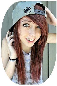#scene #scenehair #hairstyle #scenegirl #hair Scene Girl Hair, Scene Girls, Girl Hairstyles, Daddy, Baseball Hats, Hair Styles, Fashion, Hair Plait Styles, Moda