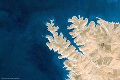 Sanlıurfa Merkez, Turkey, natural fractal, Google-Earth-view-1354