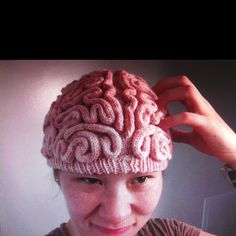 Brain hat. I'm not into the color but would wear it anyway.