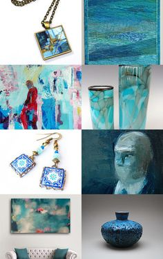 Creative Blues by Johanna on Etsy--Pinned with TreasuryPin.com