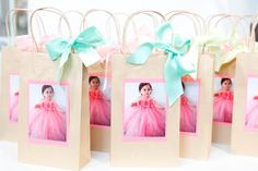 sweet party favours for birthday