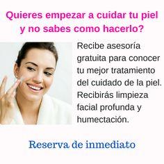 Asesoría gratuita sobre el cuidado de la piel- para El Salvador