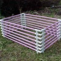 How to make your own Puppy Pen with PVC Pipes
