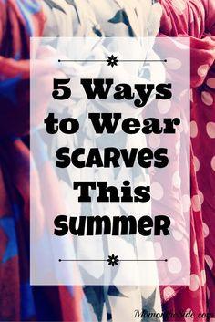 5 Ways to Wear Scarv