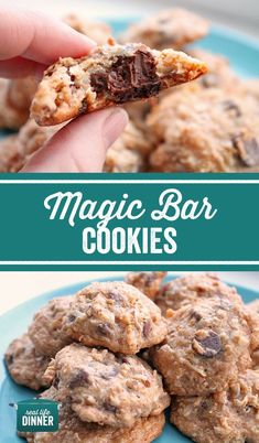 So Fun These Magic Bar Cookies Only Have Five Ingredients, You Don't Need A Mixer And They Are So Chewy And Chocolaty Yum Any Coconut And Chocolate Lovers Dream Easy No Bake Desserts, Delicious Desserts, Chocolate Recipes, Chocolate Lovers, Chocolate Heaven, Magic Cookie Bars, Homemade Snickers, Cheesecake Desserts, Strawberry Desserts
