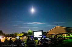 FunFlicks hosted Golf cart Drive-in at County Club!