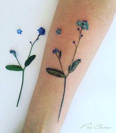 Pis Saro flower tattoo