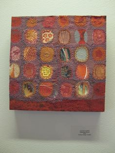 work by Catherine Kirsch Fine Art Textiles, Creative Textiles, Textile Fiber Art, Contemporary Quilts, Art Base, Weaving Patterns, Wet Felting, Soft Sculpture, Fabric Art