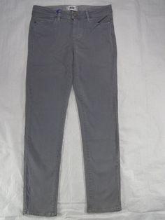PAIGE DENIM mid rise CLOUD COVER dnm 208 skyline ankle peg women's jeans SIZE 27