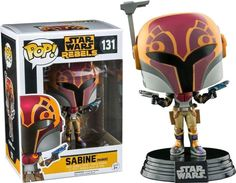 """""""You know what I do in hopeless situations? """"  Star Wars Sabine - Pop! Vinyl Figure  www.ozziecollectables.com.au  #pop #vinyl #popvinyl #funko #starwars #sabine #tv #poptv #poptelevision #OzzieCollectables #Ozzie #Collectables #darkside"""