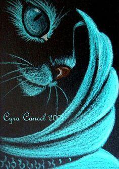 """""""Mermaid Cat"""" par Cyra R. Cancel"""