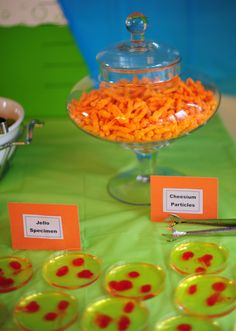 Science Party Ideas - not a theme I would have considered... until now.