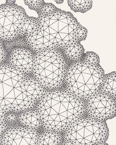 Clint Fulkerson, Froth #1, Ink on paper, 2012