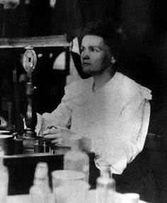 Marie Curie: Nobel Prize in Physics with husband, Pierre, 1903; Nobel Prize in Chemistry, 1911.  Pioneered use of radidography.