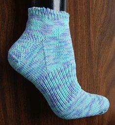 free knit sock pattern