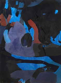 James Brooks, 'Untitled', 1952, Parrish Art Museum | Artsy