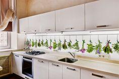 Fototapety na ścianę: Fototapeta w kuchni #fototapeta #fototapety #kuchnia #aranżacja #kuchnia