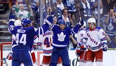 Leafs offence blows up again in high-scoring win over Rangers