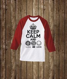 KEEP CALM and Super Who Lock by TheBarkSideBoutique on Etsy