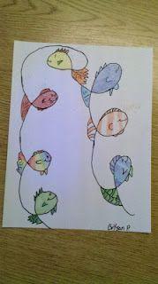 doodle fish; stappenplan!