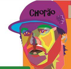 WPAP Chorão _ Whedais Pop Art Portrait