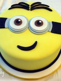 Top Despicable Me Cakes - I see my Minion cake! Think I found the next cake to…