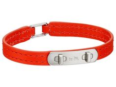 COACH Leather Swagger Bracelet