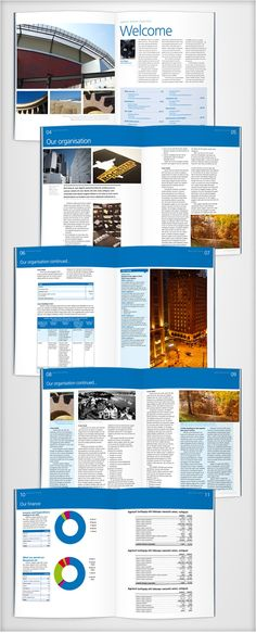 more layout possibilities #brochure #layout