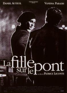 Affiche du film La fille sur le pont Vanessa Paradis
