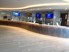 Daltile Chenille White Floor Yankee Stadium